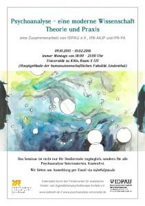Psychoanalytisches Seminar Köln WiSe 15:16_1